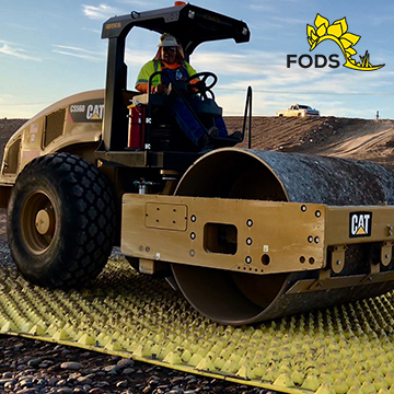 FODS Trackout Control Mat System